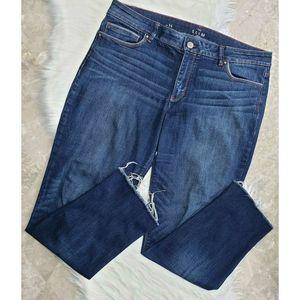 WHITE HOUSE BLACK MARKETS Jeans The Slim Crop 14